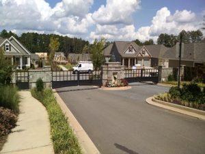 Neighborhood Security Gate